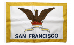 Flagge mit Hohlsaum USA City of San Francisco