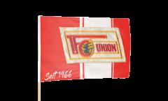 Stockflagge 1.FC Union Berlin seit 1966