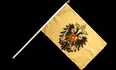 Stockflagge Österreich-Ungarn 1815-1915 - 30 x 45 cm