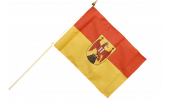 Stockflagge Österreich Burgenland - 30 x 45 cm