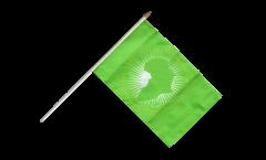 Stockflagge Afrikanische Union AU
