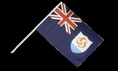 Stockflagge Anguilla