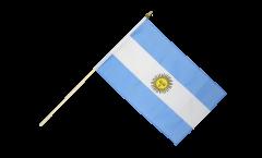 Stockflagge Argentinien - 30 x 45 cm