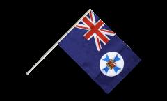 Stockflagge Australien Queensland
