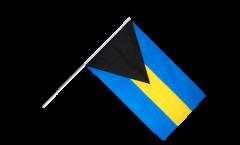 Stockflagge Bahamas