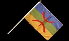 Stockflagge Berber Amazigh