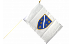 Stockflagge Bosnien alt 1992-1998