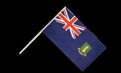 Stockflagge Britische Jungferninseln