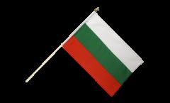 Stockflagge Bulgarien
