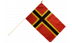 Stockflagge Deutscher Widerstand Stauffenberg - 30 x 45 cm