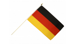 Stockflagge Deutschland - 30 x 45 cm
