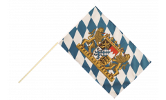 Stockflagge Deutschland Bayern Freistaat