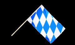 Stockflagge Deutschland Bayern ohne Wappen