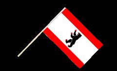 Stockflagge Deutschland Berlin