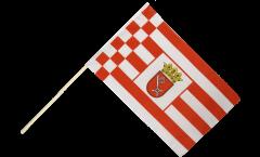 Stockflagge Deutschland Bremen
