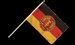 Stockflagge Deutschland DDR Nationale Volksarmee NVA