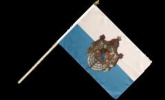 Stockflagge Deutschland Königreich Bayern 1806-1918
