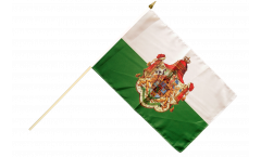 Stockflagge Deutschland Königreich Sachsen 1806-1918