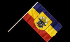 Stockflagge Deutschland Mecklenburg alt