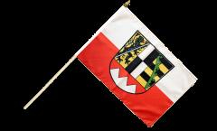 Stockflagge Deutschland Oberfranken