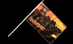 Stockflagge Deutschland Ruhrpott Ruhrgebiet