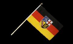 Stockflagge Deutschland Saarland