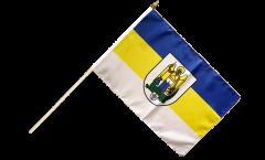 Stockflagge Deutschland Stadt Jena