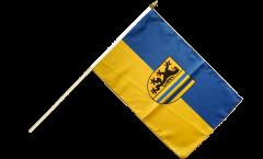 Stockflagge Deutschland Stadt Leipzig