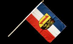 Stockflagge Deutschland Stadt Mannheim