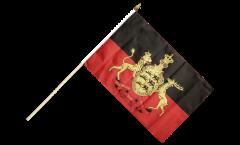 Stockflagge Deutschland Württemberg