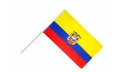 Stockflagge Ecuador