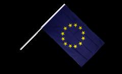 Stockflagge Europäische Union EU