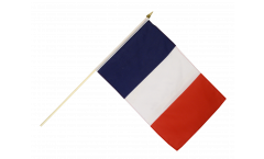Stockflagge Frankreich