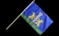 Stockflagge Frankreich Ajaccio