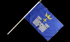 Stockflagge Frankreich Angoulême