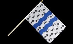 Stockflagge Frankreich Ille-et-Vilaine