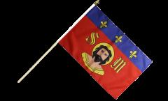 Stockflagge Frankreich Limoges