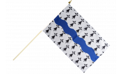 Stockflagge Frankreich Loire-Atlantique