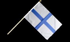 Stockflagge Frankreich Marseille