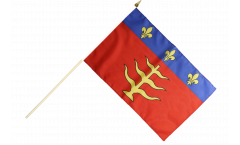 Stockflagge Frankreich Montauban