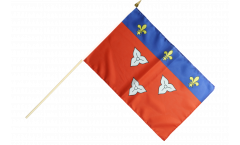 Stockflagge Frankreich Orléans
