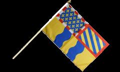 Stockflagge Frankreich Saône-et-Loire