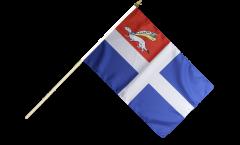 Stockflagge Frankreich Saint-Malo
