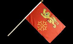 Stockflagge Frankreich Tarn-et-Garonne