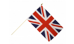 Stockflagge Großbritannien