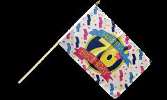Stockflagge Happy Birthday