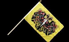 Stockflagge Heiliges Römisches Reich Deutscher Nation Quaterionenadler