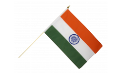 Stockflagge Indien