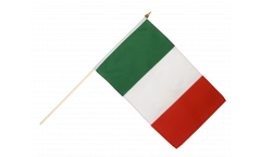 Stockflagge Italien