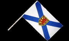 Stockflagge Kanada Neuschottland